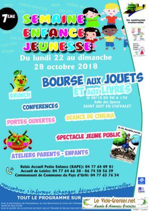 BOURSE AUX JOUETS de Saint-Just-en-Chevalet