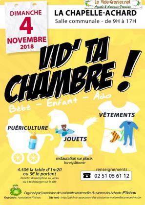 Vide ta chambre de La Chapelle-Achard