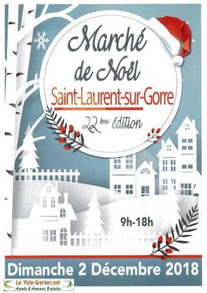 Marché de Noël de Saint-Laurent-sur-Gorre