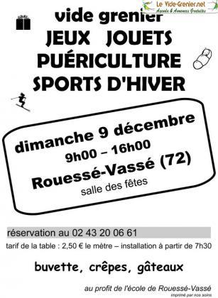 Vide-greniers de Rouessé-Vassé
