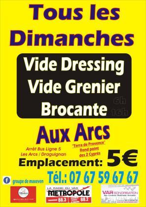 Brocante Vide-greniers - Les Arcs