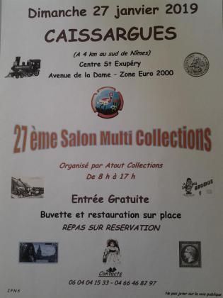 SALON MULTI COLLECTIONS de Caissargues