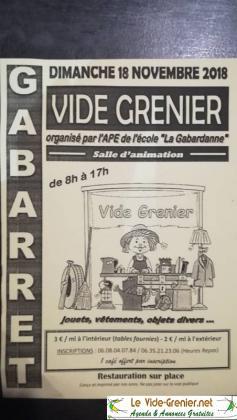 Vide-greniers de Gabarret