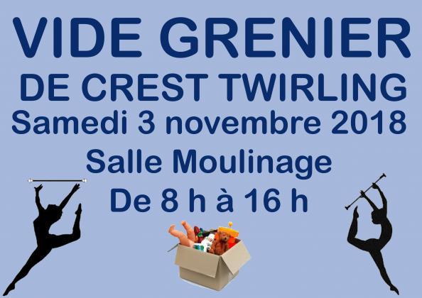 VIDE GRENIER ANNUEL DE CREST TWIRLING