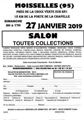 Salon toutes collection de Moisselles