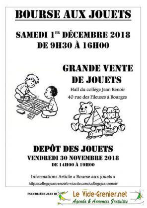 Bourse aux Jouets de Bourges