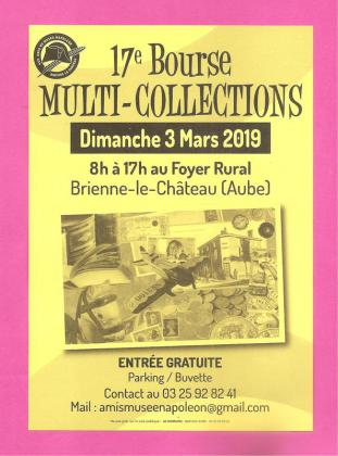 Bourse multi collections de Brienne-le-Château