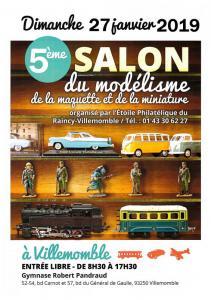 Salon Modélisme, Maquettes et Miniatures de VILLEMOMBLE