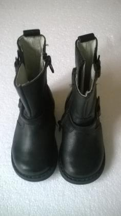 Bottes cuir fille
