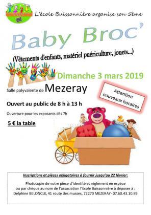 Baby Broc de Mézeray