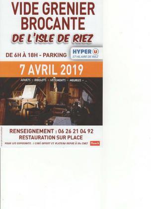Brocante Vide-greniers de Saint-Hilaire-de-Riez