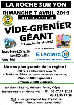 Vide-greniers de La Roche-sur-Yon