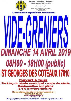 Vide-greniers de Saint-Georges-des-Coteaux