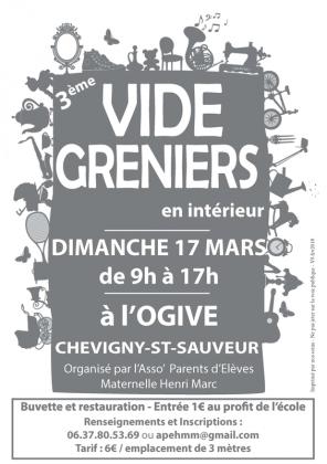 Vide-greniers de Chevigny-Saint-Sauveur