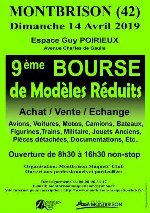 BOURSE de Modèles Réduits de Montbrison