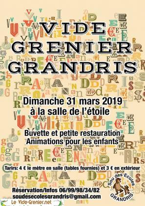 Vide-greniers de Grandris