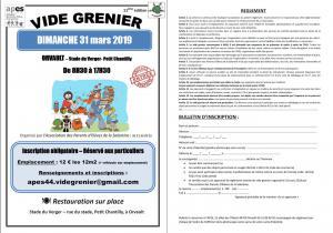 Vide-greniers - Orvault