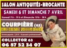 Salon antiquites de Courpière