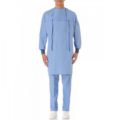 Blouse médicale Casaque à bavette 100% Coton