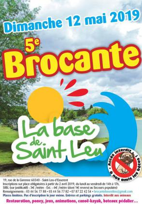 Brocante Vide-greniers de Saint-Leu-d'Esserent
