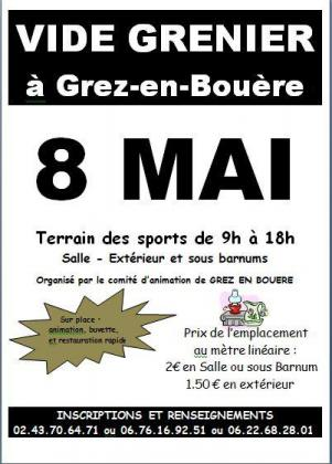 Vide-greniers de Grez-en-Bouère
