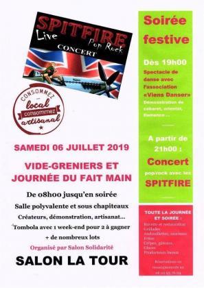 Vide-greniers de Salon-la-Tour