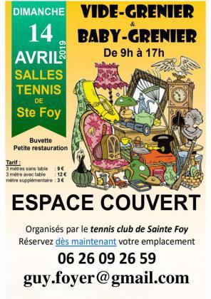 Vide-greniers de Sainte-Foy