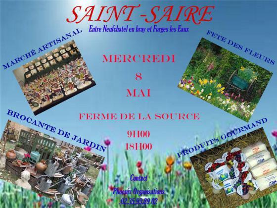Fête des Fleurs, Marché du Terroir de Saint-Saire