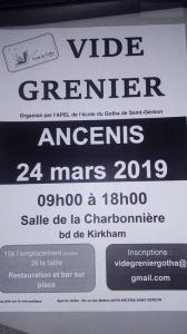Vide-greniers - Ancenis