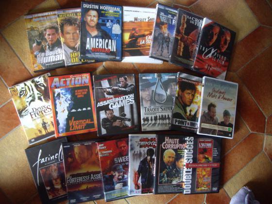 Divers DVD et K7 Vidéos VHS de Films