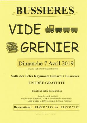 Vide-greniers de Bussières