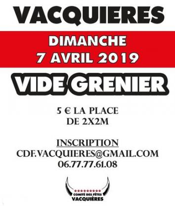 Vide-greniers de Vacquières
