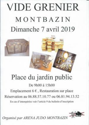 Vide-greniers de Montbazin