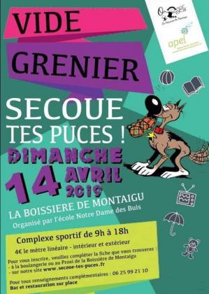 Vide-greniers de La Boissière-de-Montaigu