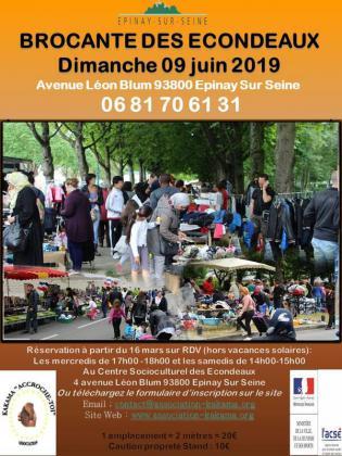 Brocante Vide-greniers - Épinay-sur-Seine