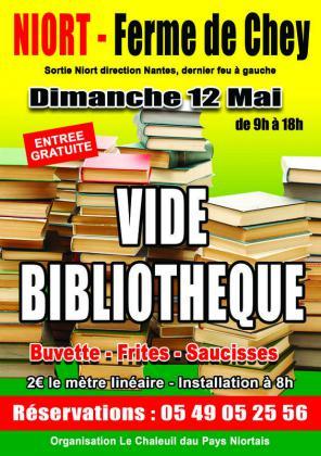 Vide Bibliothèque de Niort