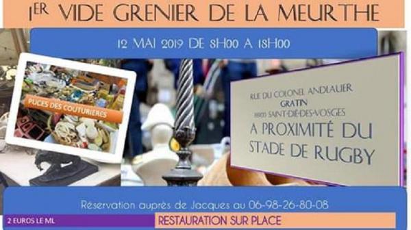 Vide-greniers de Saint-Dié-des-Vosges
