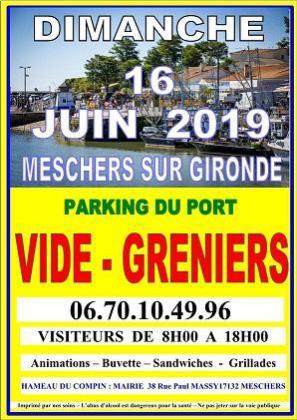 Brocante Vide-greniers de Meschers-sur-Gironde