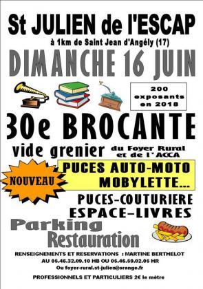 Brocante Vide-greniers de Saint-Julien-de-l'Escap