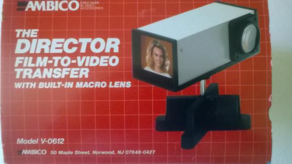 Transfert de films ou de diapositives