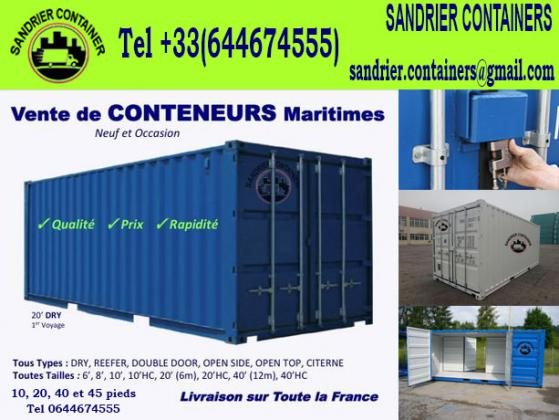 SANDRIER CONTAINERS