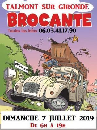 Grande brocante professionnelle de Talmont-sur-Gironde