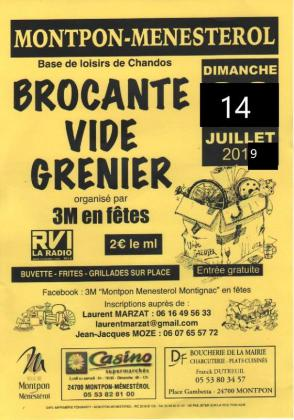 Brocante Vide-greniers de Montpon-Ménestérol