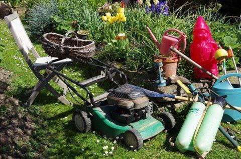 Vide jardin de Rosporden