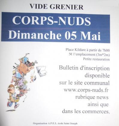 Vide-greniers de Corps nuds
