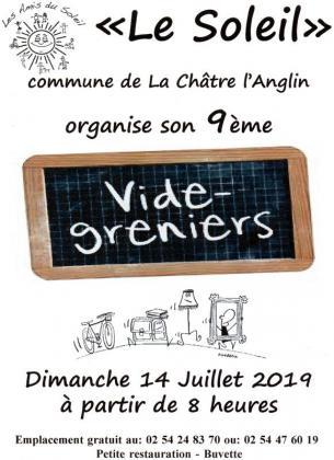 Vide-greniers de La Châtre-Langlin