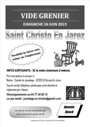 Vide-greniers de Saint-Christo-en-Jarez