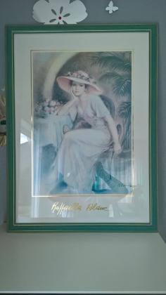 Cadre Raffaella Blanc