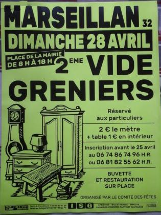Vide-greniers de Marseillan