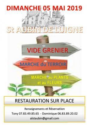 Vide-greniers de Saint-Aubin-de-Luigné